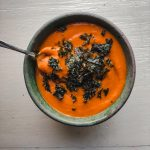 5-Ingredient Carrot Ginger Soup