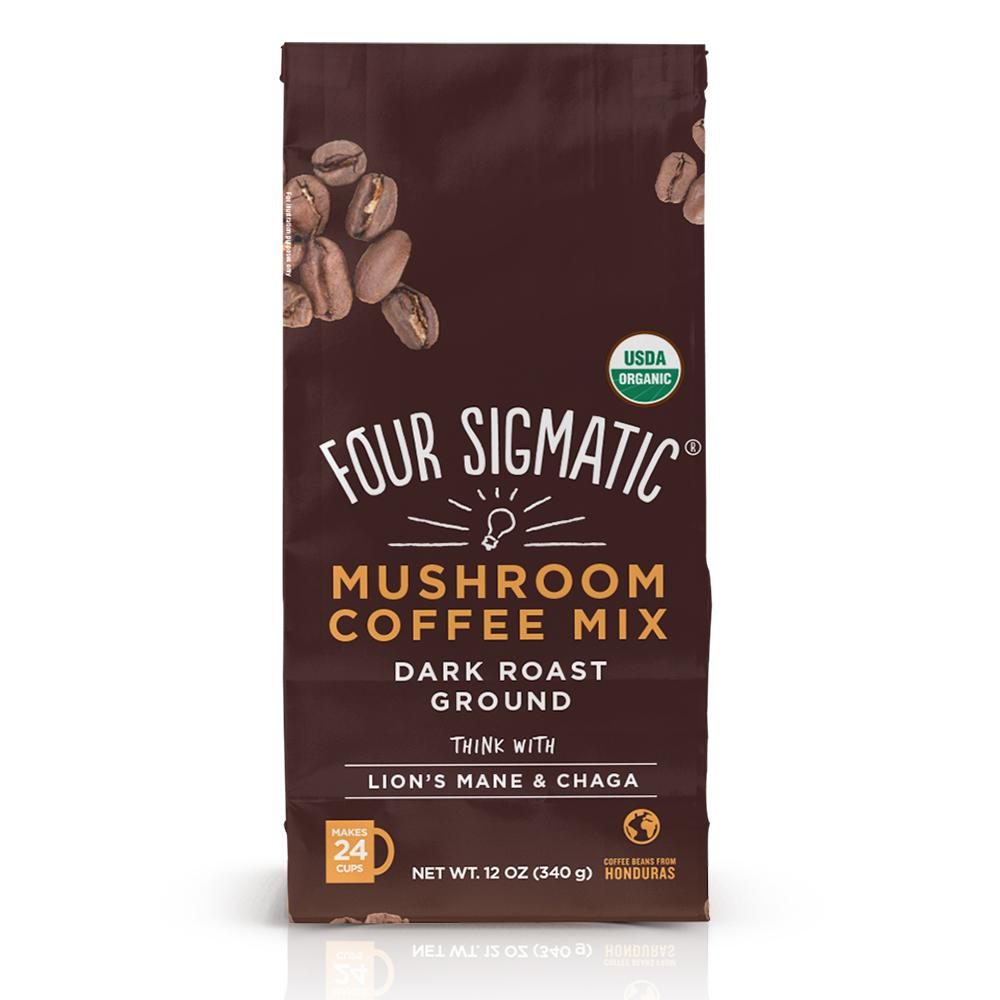 four sigmatic coffee organic mushroom christmas gift