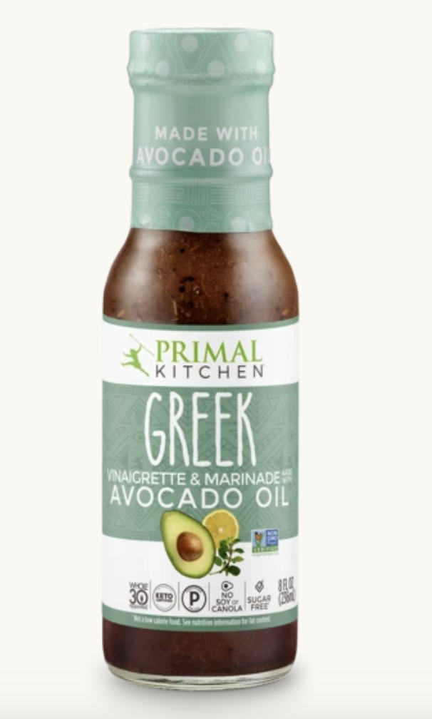 Primal Kitchen's Greek Dressing + favorite healthy sauces and dressings
