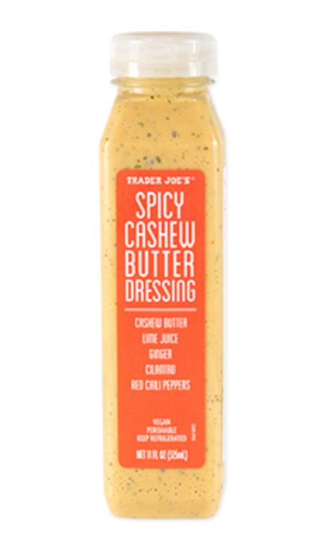 Trader Joe's Spicy Cashew Butter + favorite healthy sauces and dressings