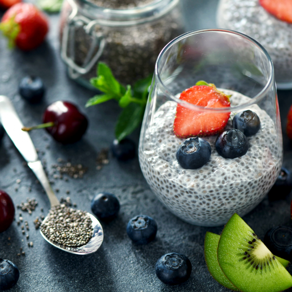 Three Ingredient Chia Seed Pudding Recipe
